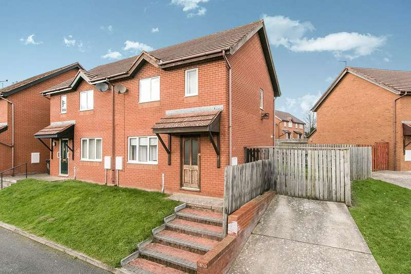 2 Bedrooms Semi Detached House for sale in Woodlands, Llandudno Junction, Conwy, LL31