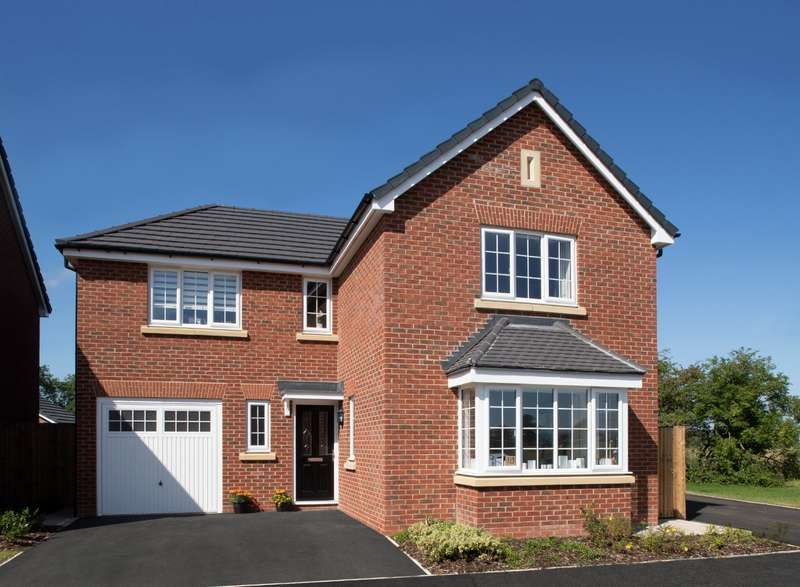 4 Bedrooms Detached House for sale in Plot 9 The Newton, Calder View, Daniel Fold Lane, Catterall, PR3
