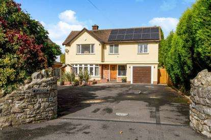 4 Bedrooms Detached House for sale in Oaklands Drive, Almondsbury, Bristol