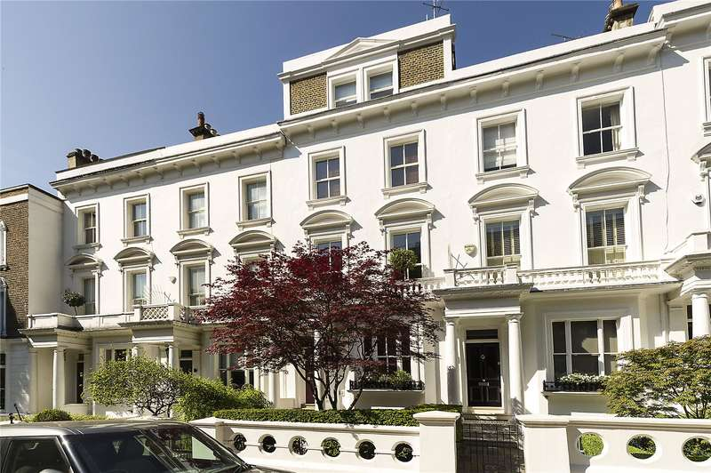 5 Bedrooms Terraced House for sale in Campden Hill Road, London, W8