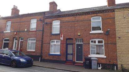 2 Bedrooms Terraced House for sale in Ludford Street, Crewe, Cheshire