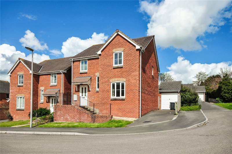 4 Bedrooms Detached House for sale in Nadder Meadow, South Molton, Devon, EX36