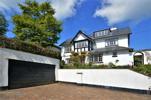 4 Bedrooms Detached House for sale in Alexandria Road, Sidmouth, Devon
