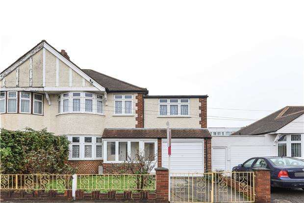 4 Bedrooms Semi Detached House for sale in Hammond Avenue, Mitcham, Surrey, CR4