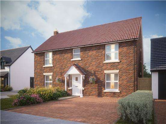 5 Bedrooms Detached House for sale in Hatterswood, Tanhouse Lane, Yate, BRISTOL, BS37 7LP