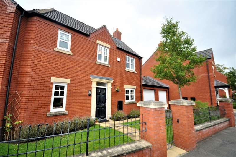 3 Bedrooms Semi Detached House for sale in Upton Grange, Upton, Chester