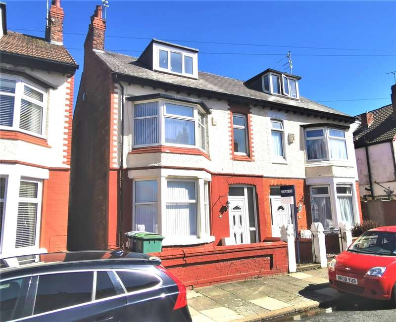 4 Bedrooms Semi Detached House for sale in Millbank Road, Wallasey, CH44 3AH