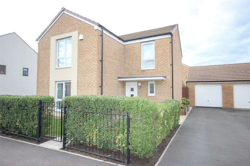 4 Bedrooms Detached House for sale in Eighteen Acre Drive, Charlton Hayes, Patchway BS34