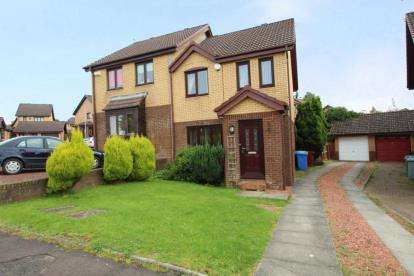 3 Bedrooms Semi Detached House for sale in Brodick Drive, Stewartfield