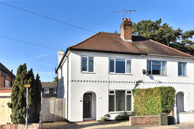 3 Bedrooms Semi Detached House for sale in Edward Avenue, Camberley, Surrey, GU15