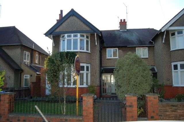 4 Bedrooms Semi Detached House for sale in Park Avenue North, Abington, Northampton NN3 2HX