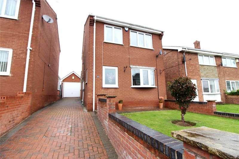 3 Bedrooms Detached House for sale in Snetterton Close, Cudworth