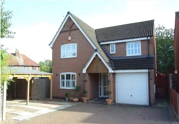 4 Bedrooms Detached House for sale in Castle Court, Heanor, Derbyshire
