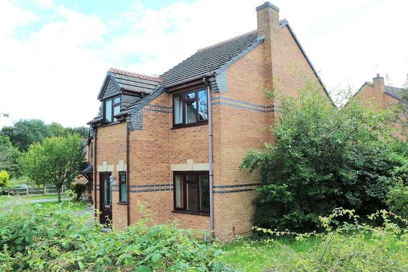 3 Bedrooms Detached House for sale in Parklands Walk, Ruabon, Wrexham