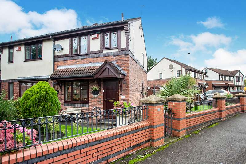 3 Bedrooms Semi Detached House for sale in Hartwell Close, Beswick, Manchester, M11