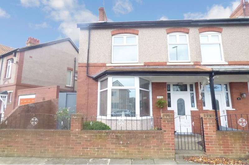 3 Bedrooms Property for sale in Ridley Avenue, Blyth, Northumberland, NE24 3BA
