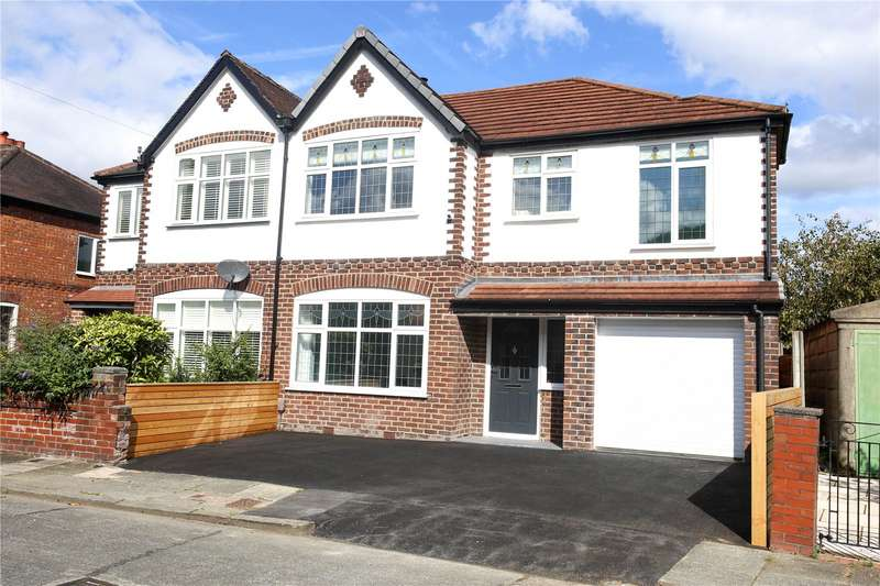 4 Bedrooms Semi Detached House for sale in Merlyn Avenue, Didsbury, Manchester, M20
