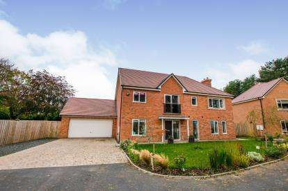 4 Bedrooms Detached House for sale in Harthope Court, St Mary's, Stannington, Morpeth, NE61
