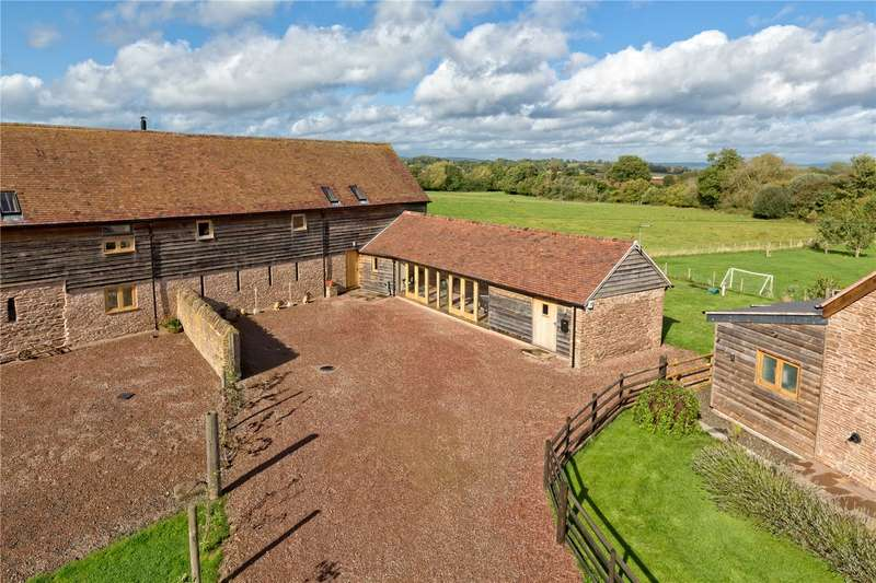4 Bedrooms Barn Conversion Character Property for sale in Clee View , Upper Easton Farm, Leysters, Leominster, Herefordshire, HR6