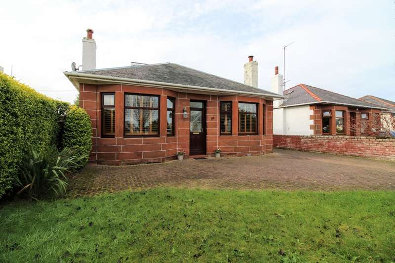 3 Bedrooms Detached Bungalow for sale in St. Quivox Road, Prestwick, KA9