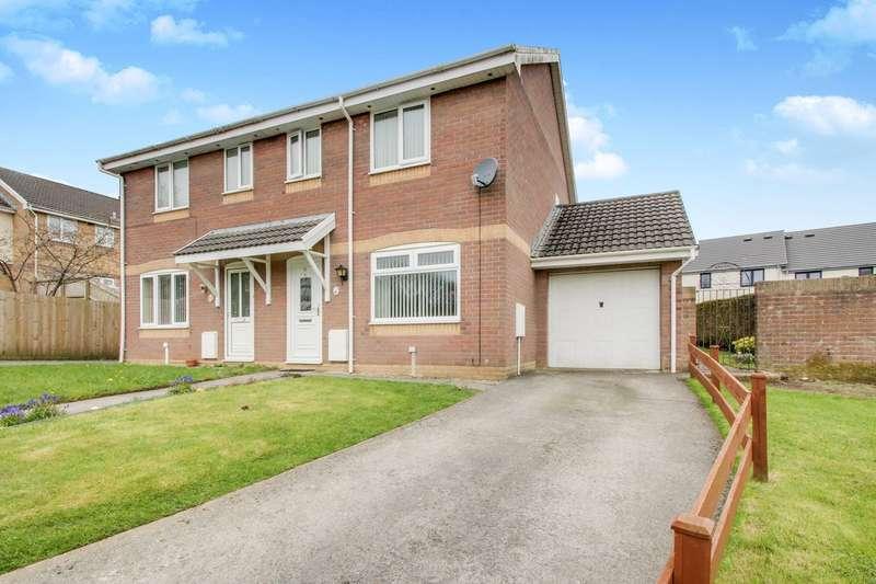 3 Bedrooms Semi Detached House for sale in Pen-Y-Parc, Ebbw Vale, NP23