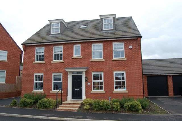 5 Bedrooms Detached House for sale in Willow Tree Way, Moulton, Northampton NN3 7BW