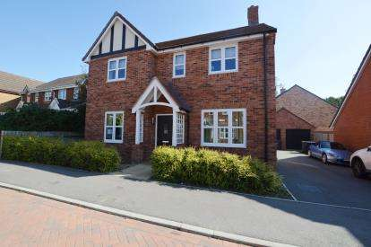 4 Bedrooms Detached House for sale in Harcourt Way, Hunsbury Hill, Northampton, Northamptonshire