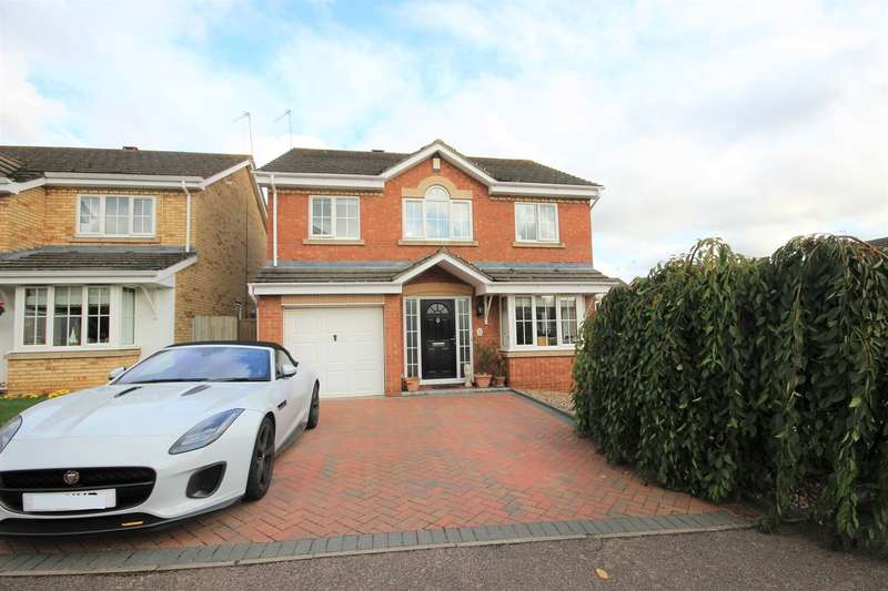 4 Bedrooms Detached House for sale in Exton Close, Ampthill, Bedfordshire, MK45