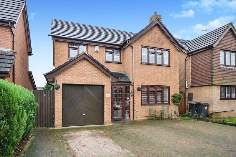 4 Bedrooms Detached House for sale in Priestley Drive, Larkfield, Aylesford, Kent, ME20