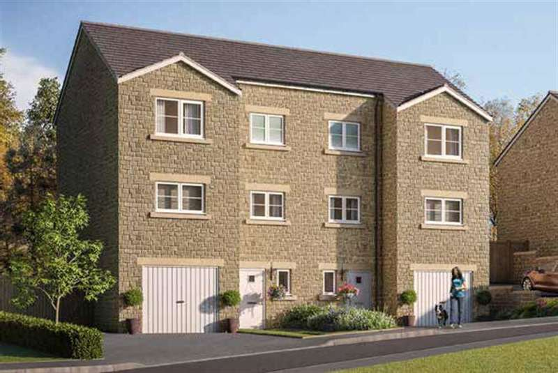 4 Bedrooms Semi Detached House for sale in Buckton View, Micklehurst, Mossley, OL5 9NL