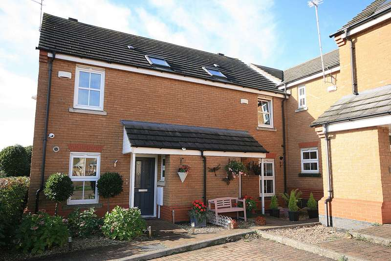 3 Bedrooms Terraced House for sale in Montgomery Way, Wootton, Northampton, NN4