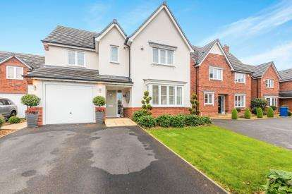 4 Bedrooms Detached House for sale in Hermitage Close, Winwick, Warrington, Cheshire