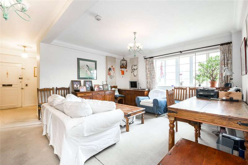 3 Bedrooms Flat for sale in Cottesmore Court, Stanford Road, London, W8