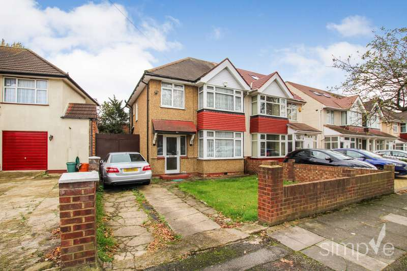 3 Bedrooms Semi Detached House for sale in Silverdale Gardens, Hayes, UB3