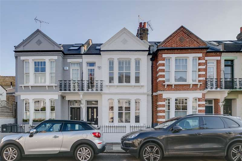 5 Bedrooms Terraced House for sale in Eddiscombe Road, Parsons Green, London, SW6