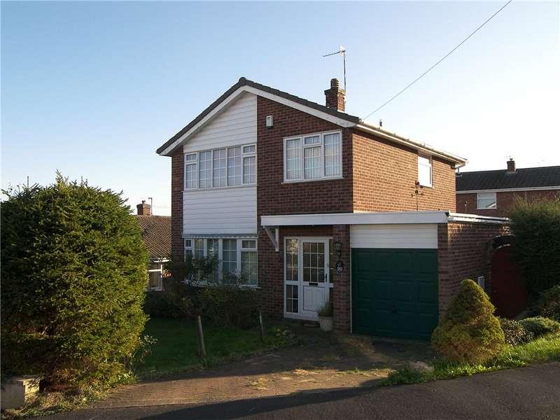 3 Bedrooms Detached House for sale in Monyash Way, Belper, Derbyshire, DE56