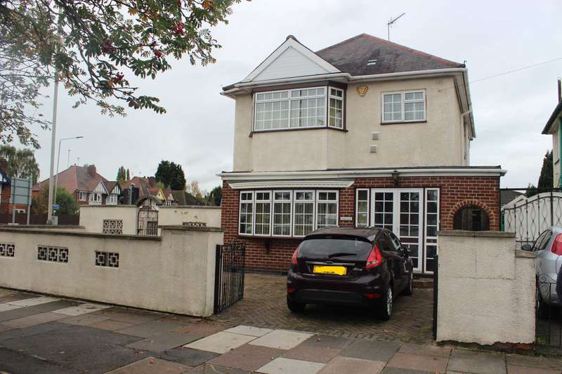 4 Bedrooms Detached House for sale in Gimson Road, Braunstone