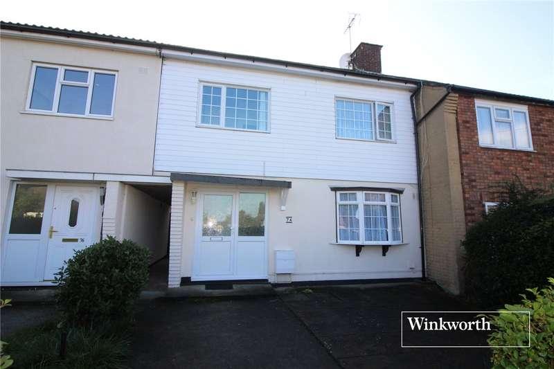 3 Bedrooms Terraced House for sale in Stevenage Crescent, Borehamwood, Hertfordshire, WD6