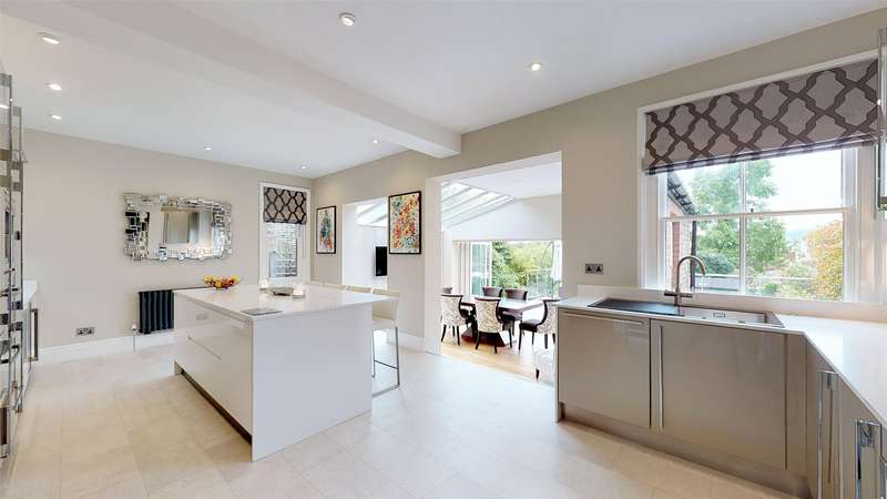 5 Bedrooms Detached House for sale in Belmont Road, Reigate, Surrey, RH2