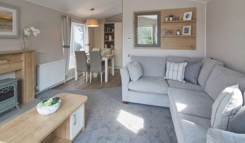 2 Bedrooms Caravan Mobile Home for sale in Widemouth Fields, Cornwall