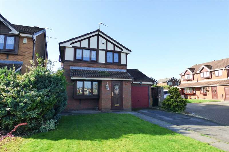 3 Bedrooms Detached House for sale in Ostlers Gate, Droylsden, Manchester, Greater Manchester, M43