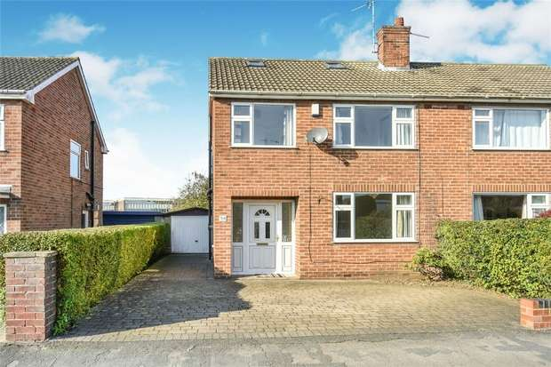 5 Bedrooms Semi Detached House for sale in Crossways, Badger Hill, York