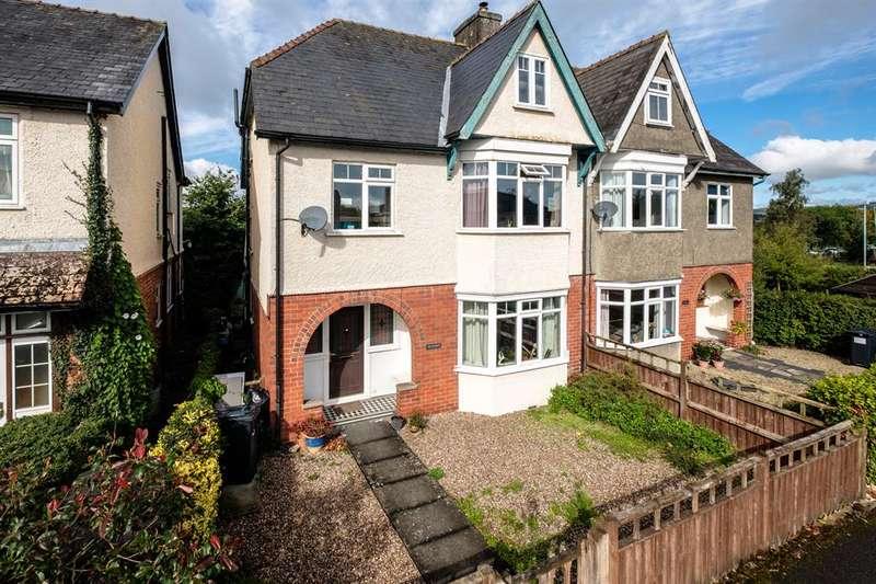 5 Bedrooms Semi Detached House for sale in Hathaway, Victoria Road, Llandrindod Wells, LD1 6AP
