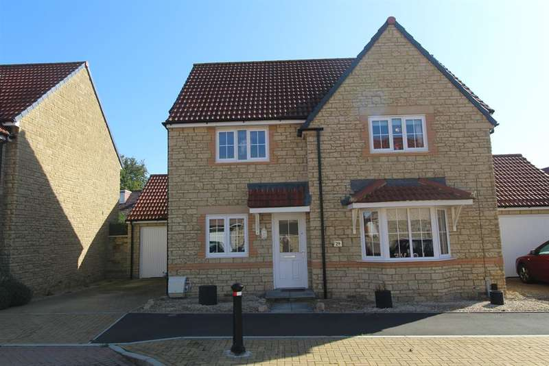 4 Bedrooms Detached House for sale in Hamilton Way, Whitchurch, Bristol, BS14 0SZ