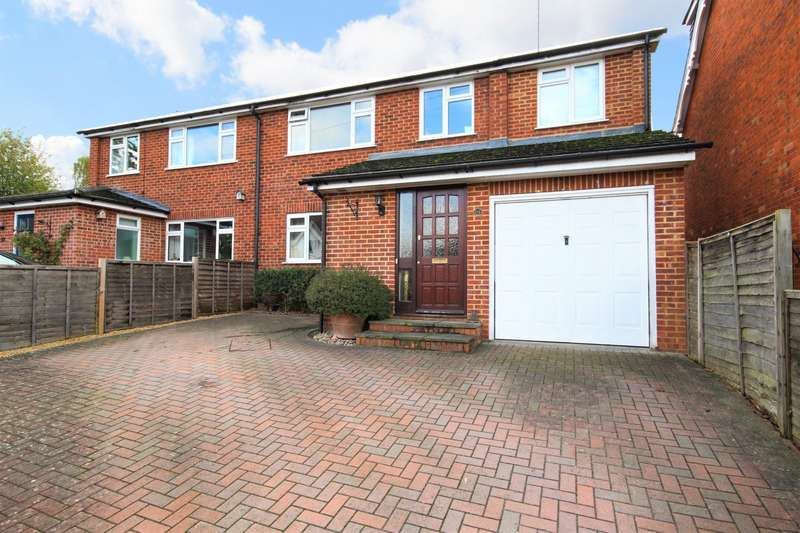 3 Bedrooms Semi Detached House for sale in Victoria Road, Wargrave, Reading, RG10