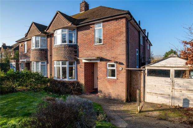 3 Bedrooms Semi Detached House for sale in Crawshay Drive, Emmer Green, Reading