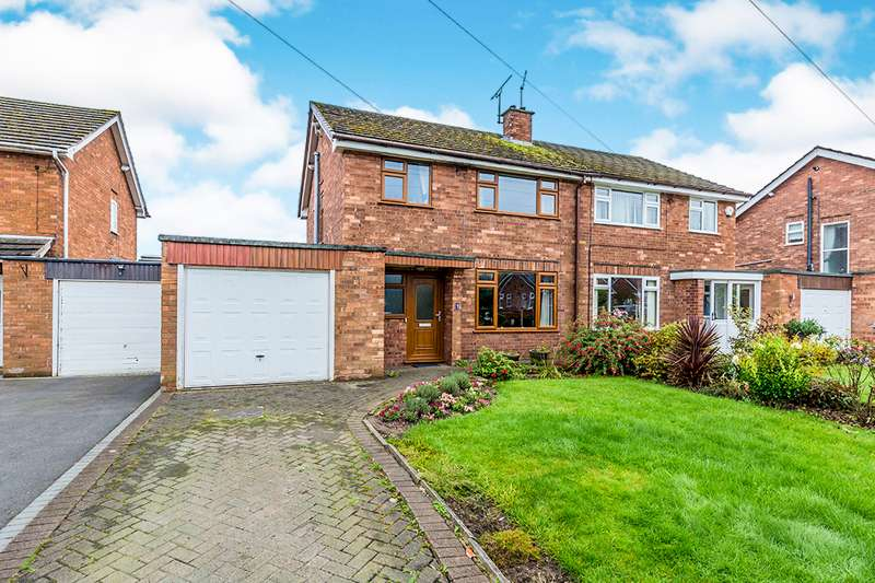 3 Bedrooms Semi Detached House for sale in Elm Road, Middlewich, Cheshire, CW10