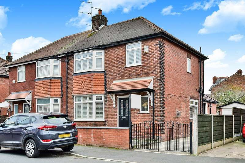 3 Bedrooms Semi Detached House for sale in Victoria Road, Northenden, Manchester, Greater Manchester, M22