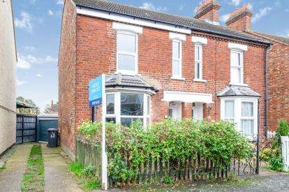 3 Bedrooms Semi Detached House for sale in Park Road, Kempston, Bedford, Bedfordshire