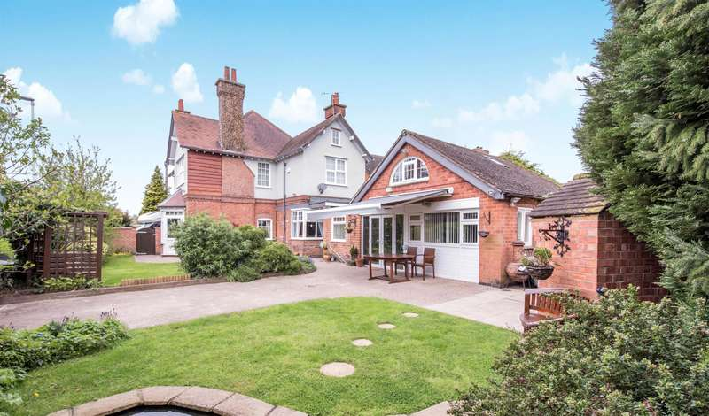 4 Bedrooms Detached House for sale in Lutterworth Road, Blaby, Leicester, LE8 4DN